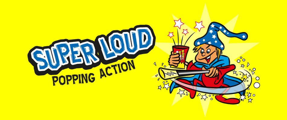 super load popping candy wizard